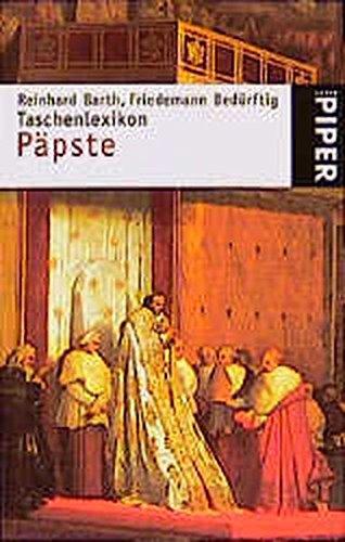 9783492230421: Taschenlexikon Päpste (Serie Piper)