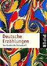 9783492235600: Deutsche Erzählungen.