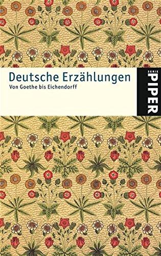 9783492241441: Deutsche Erzählungen.