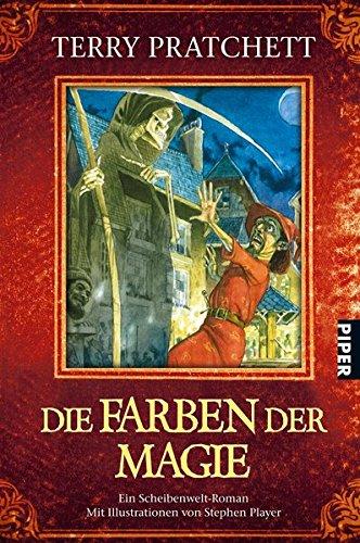 Die Farben der Magie - Ein Scheibenwelt-Roman mit Illustrationen von Stephen Player - Terry Pratchett