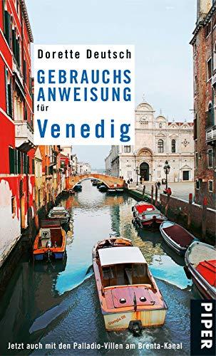 9783492275910: Gebrauchsanweisung für Venedig: Mit Palladio und den Brenta-Villen