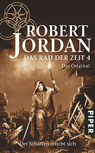 Das Rad der Zeit alle 4 Bücher die suche nach dem Auge der Welt die Jagd beginnt. .die Rü...