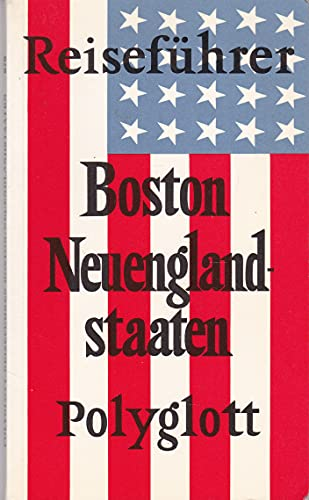 9783493608700: Boston /Neuenglandstaaten