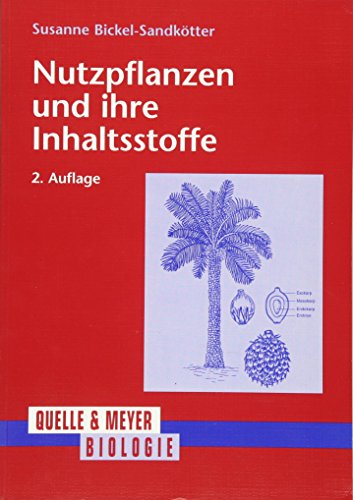 Nutzpflanzen und ihre Inhaltsstoffe: Susanne Bickel-Sandkötter