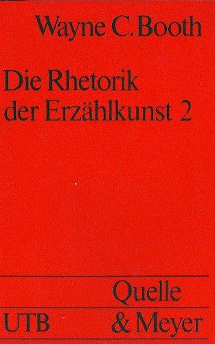 9783494020419: Die Rhetorik der Erzählkunst 2