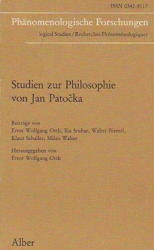 9783495475713: Studien zur Philosophie von Jan Patocka (Phenomenological studies) (German Edition)