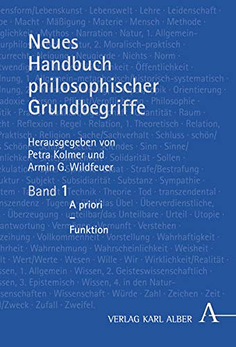 9783495482223: Neues Handbuch philosophischer Grundbegriffe: In drei Bänden