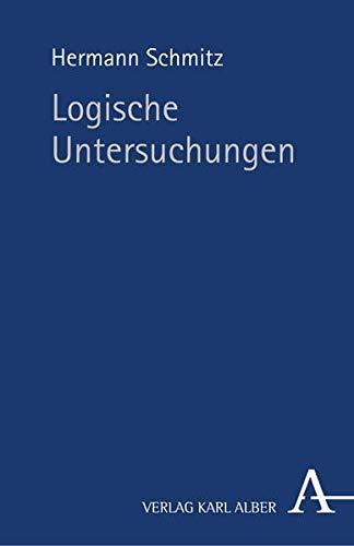 9783495483152: Logische Untersuchungen