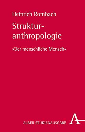 9783495485149: Strukturanthropologie: