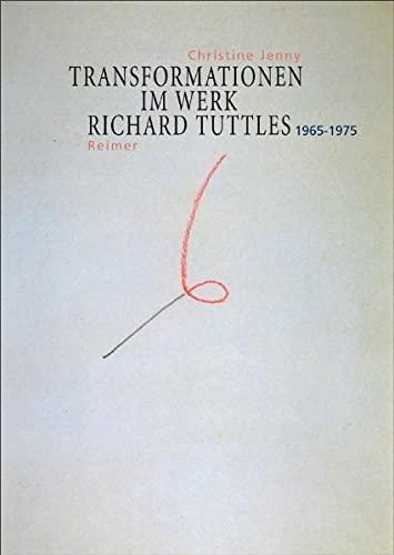 9783496013341: Transformationen im Werk von Richard Tuttle