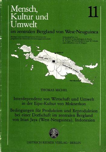 Interdependenz von Wirtschaft und Umwelt in der: Thomas Michel