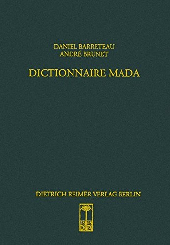 Dictionnaire Mada: Daniel Barreteau
