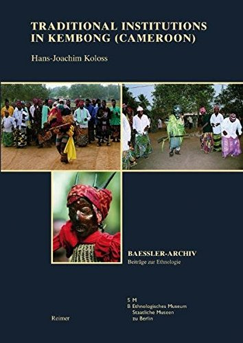 Traditional Institutions in Kembong (Cameroon) (Paperback): Hans-Joachim Koloss