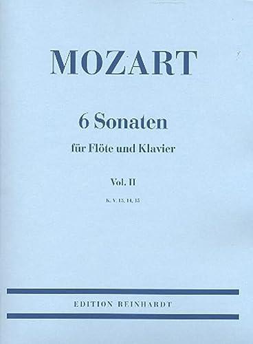 9783497010189: 6 Sonaten f�r Fl�te und Klavier - Vol. 2 - Book