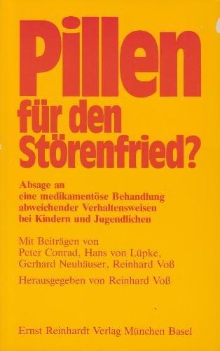 9783497011933: Pillen f�r den St�renfried?