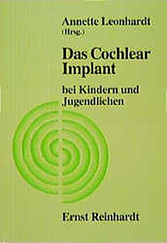 9783497014255: Das Cochlear Implant bei Kindern und Jugendlichen