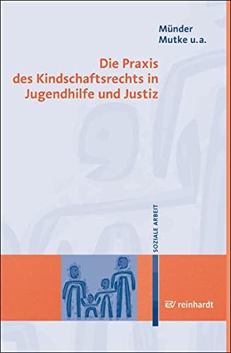 9783497019113: Die Praxis des Kindschaftsrechts in Jugendhilfe und Justiz