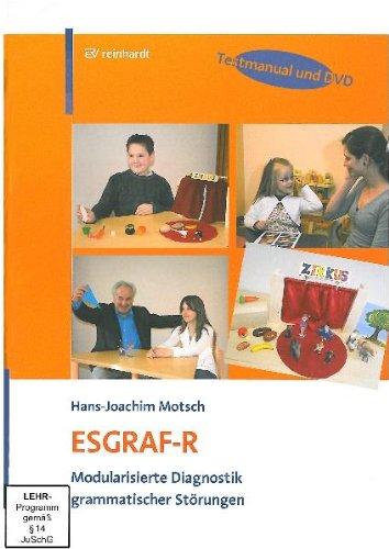 9783497020348: ESGRAF-R: Modularisierte Diagnostik grammatischer Störungen - Testmanual