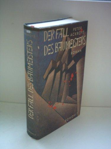9783498000240: Der Fall des Baumeisters