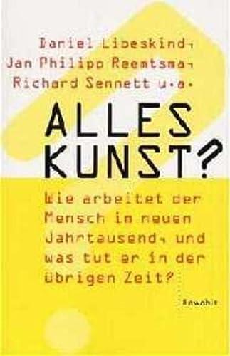 9783498013196: Alles Kunst?