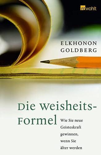 9783498025083: Die Weisheits-Formel