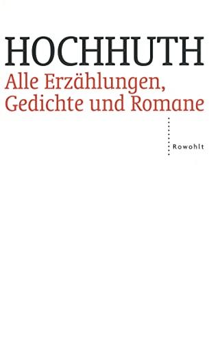 9783498029623: Alle Erzählungen, Gedichte und Romane