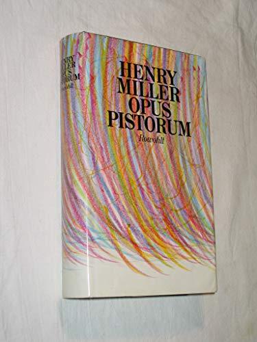 9783498042813: Opus Pistorum