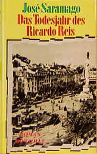 9783498062156: Das Todesjahr des Ricardo Reis