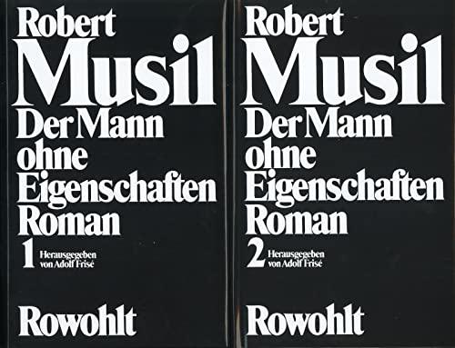 9783498092856: Der Mann ohne Eigenschaften: Band 1: Erstes und Zweites Buch. Band 2: Aus dem Nachlaß