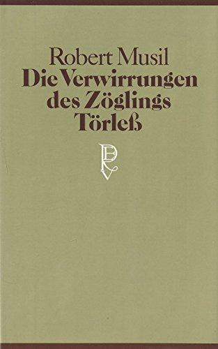 9783498092863: Die Verwirrungen des Zöglings Törless. (Jubiläumsbibliothek)