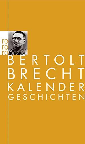 9783499100772: Kalendergeschichten (German Edition)