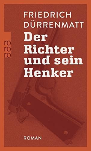 9783499101502: Der Richter Und Sein Henker (German Edition)