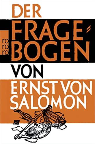 9783499104190: Der Fragebogen.