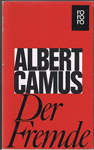 Der Fremde: Camus, Albert