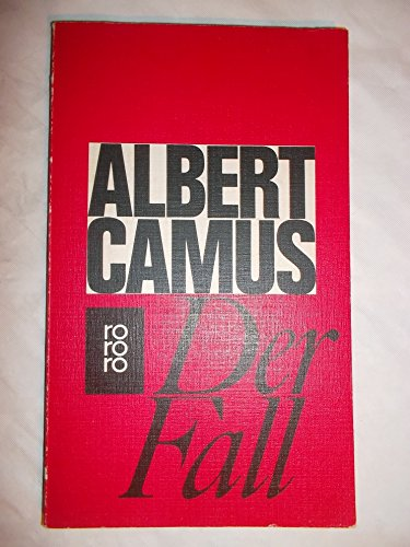 Der Fall : Roman.: Camus, Albert: