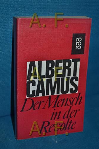 9783499112164: Der Mensch in der Revolte. Essays