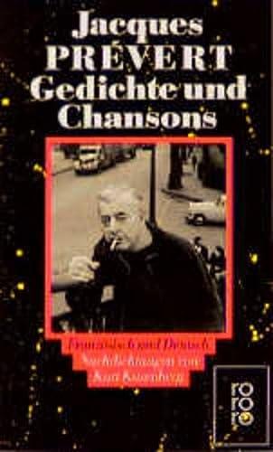 Gedichte und Chansons. Zweisprachige Ausgabe. Franz?sisch /: Prevert, Jacques, Kusenberg,