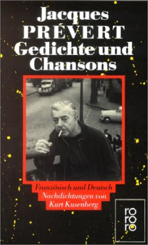 9783499114212: Gedichte und Chansons. Zweisprachige Ausgabe. Französisch / Deutsch.