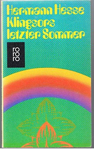Klingsors letzter Sommer: Hess, Hermann: