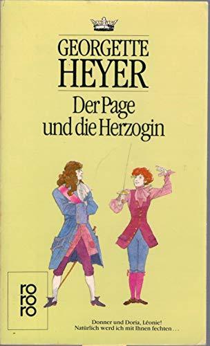 9783499120022: Der Page und die Herzogin