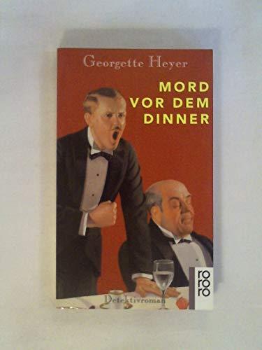 9783499132841: Mord vor dem Dinner. Detektivroman