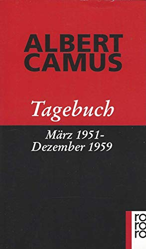 9783499133237: Tagebuch März 1951 - Dezember 1959