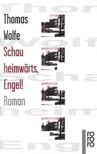 9783499134180: Schau heimwärts, Engel!: Eine Geschichte vom begrabnen Leben. Roman