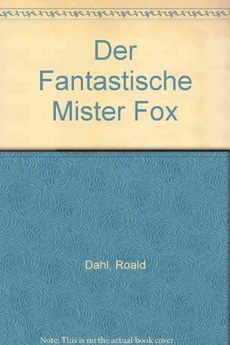 9783499138546: Der Fantastische Mister Fox