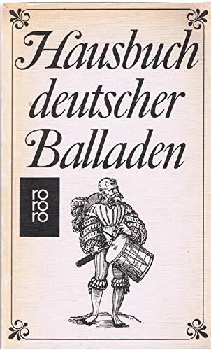 9783499142871: Hausbuch deutscher Balladen.