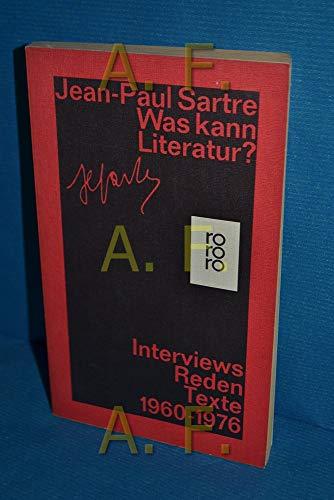 9783499143816: Was kann Literatur?