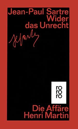 Wider das Unrecht: Die Affäre Henri Martin (Paperback) - Jean-Paul Sartre