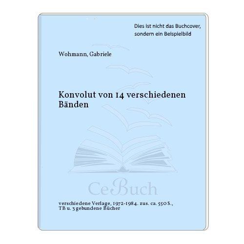 Konvolut von 14 verschiedenen Bänden - Wohmann, Gabriele