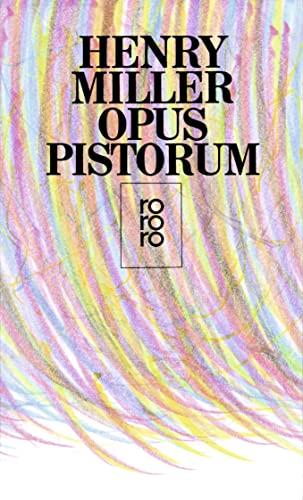 9783499158209: Opus Pistorum