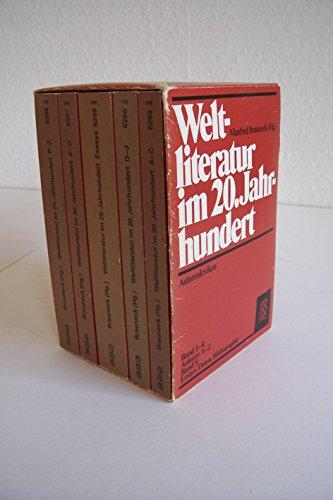 9783499162657: Weltliteratur im 20. Jahrhundert: Autorenlexikon (Rororo Handbuch) (German Edition)